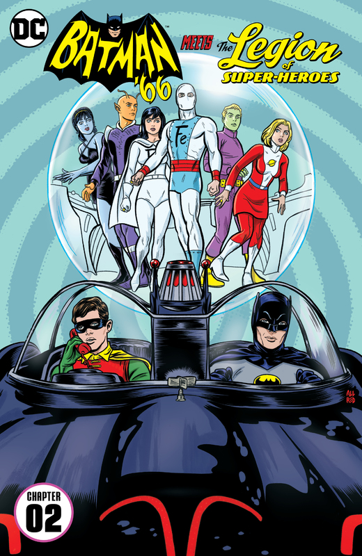 Batman '66 Meets the Legion of Super-Heroes #1-2 (2017) Complete