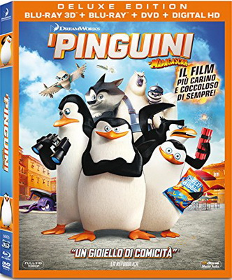 I Pinguini Di Madagascar 3D (2014) Full Blu Ray DTS HD MA
